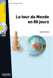 Le Tour du monde en 80 jours + CD audio