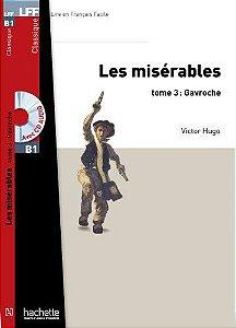 Les Misérables (Gavroche)T 03 + CD Audio