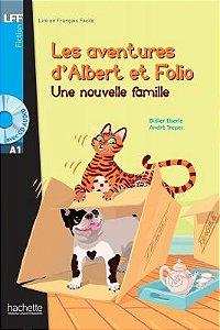 Albert et Folio - Une nouvelle famille + CD Audio