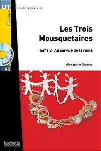 Les Trois mousquetaires T 02 + CD Audio