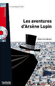 Les Aventures dïArsŠne Lupin + CD audio