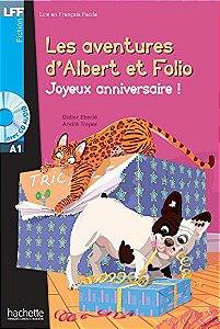 Albert et Folio - Joyeux anniversaire + CD Audio