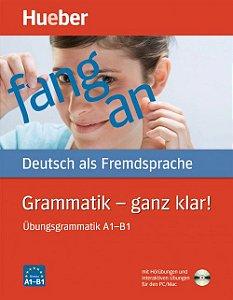 Grammatik Ganz klar! com CD-ROM - Niveau A1 - B1