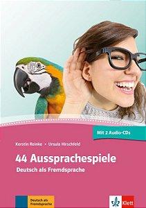 44 Aussprachespiele mit 2 Audio-CDs + Online-Angebot