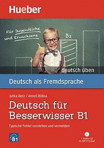 Deutsch fr Besserwisser B1 - Buch mit MP3-CD