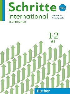 Schritte International Neu 1+2 - Testtrainer mit Audio-CD