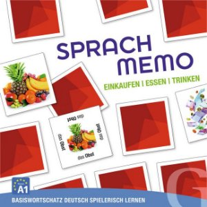 Sprachmemo Deutsch: Einkaufen, Essen, Trinken