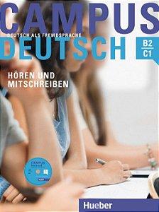 """Campus Deutsch H""""ren und Mitschreiben - Kursbuch mit MP3-CD - B2-C1"""