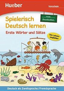 """Spielerisch Deutsch lernen - neue Geschichten - Erste W""""rter und S""""tze - Vorschule"""
