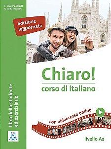 Chiaro! A2 - libro + mp3 e video online