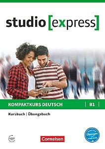 Studio [express] B1 - Kurs- und šbungsbuch mit Audios online