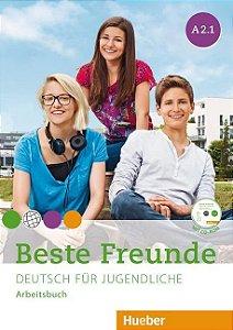 Beste Freunde A2/1 - Arbeitsbuch mit CD-ROM