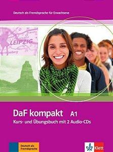 DaF kompakt A1 - Kurs- und Ubungsbuch + 2 Audio-CDs