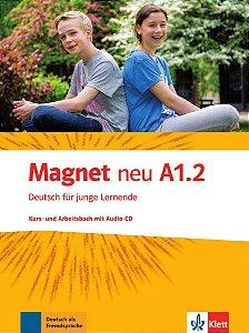 Magnet neu A1/2 - Kursbuch und Arbeitsbuch mit Audio-CD