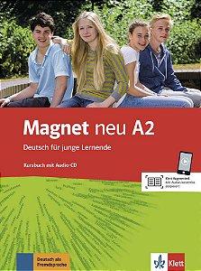 Magnet neu A2 - Kursbuch mit Audio-CD