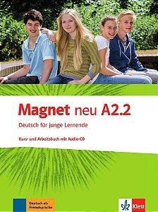 Magnet neu A2/2 - Kursbuch und Arbeitsbuch mit Audio-CD