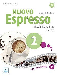 Nuovo Espresso 2 - Libro dello studente e esercizi - A2