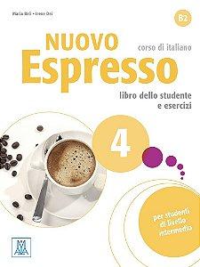 Nuovo Espresso 4 - Libro dello studente e esercizi + CD audio - B2