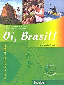 Oi, Brasil - Livro de Português para estrangeiros - Livro de Curso+MP3-CD (VERSAO EM PORTUGUES)