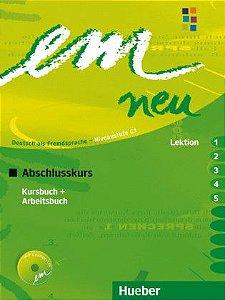 EM Neu Abschlusskurs - Kursbuch + Arbeitsbuch Lektion 1 - 5 - C1
