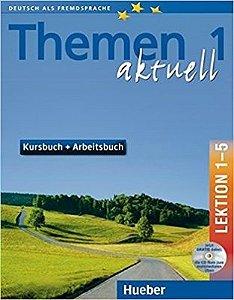 Themen aktuell 1, Kursbuch+Arbeitsbuch, Lek. 1-5 + CD-ROM + Audio CD (VERSAO SEMESTRAL PARTE 1)