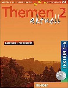 Themen aktuell 2, Kursbuch+Arbeitsbuch, Lek. 1-5 + Audio-CD (VERSAO SEMESTRAL PARTE 1)