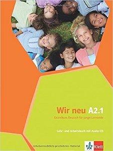 Wir neu A2/1 - Lehr- und Arbeitsbuch mit Audio-CD