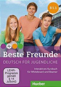 Beste Freunde B1/1 - Interaktives Kursbuch fur Whiteboard und Beamer - DVD-ROM