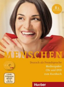Menschen B1 Medienpaket (SOMENTE AUDIO-CDs e DVD DO PROFESSOR)