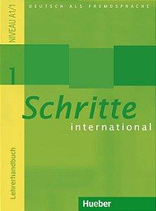 Schritte International 1 - Lehrerhandbuch - A1/1