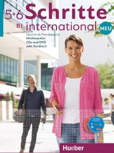 Schritte International Neu 5+6 Medienpaket - (SOMENTE AUDIO-CDs e DVD DO PROFESSOR)