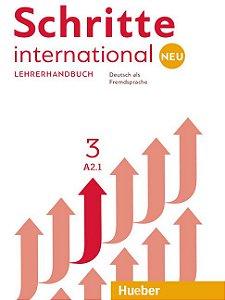 Schritte International Neu 3 - Lehrerhandbuch - A2/1