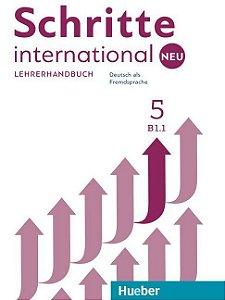 Schritte International Neu 5 - Lehrerhandbuch - B1/1