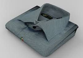 Lavagem de camisa dobrada