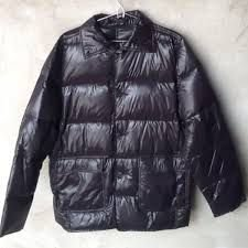 Lavagem jaqueta pluma de ganso