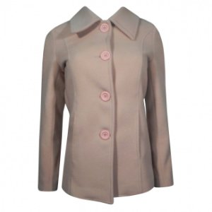 Casaco de lã alongado alex cor nude