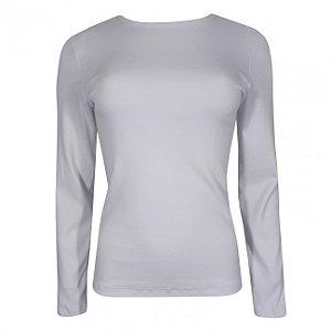 Blusa manga longa em algodão gatos&atos cor branco