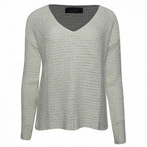 Blusa tricot frize viviane furrier