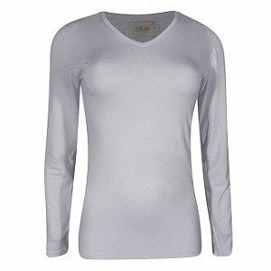 Blusa viscolycra básica katze cor branca