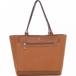 Bolsa couro camurça tresse smartbag