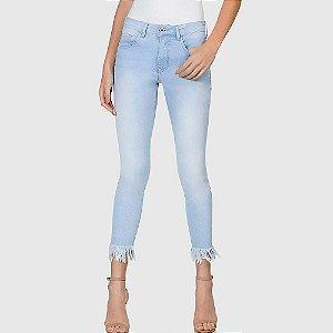 Calça jeans cigarrete bali elastic denim lez a lez