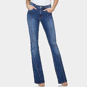 Calça jeans flare malibu esthetic care lez a lez