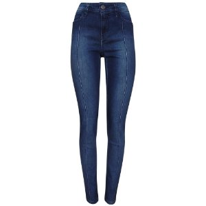 Calça jeans skinny ana vinco frontal scalon