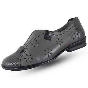Sapato em couro j.gean dual confort