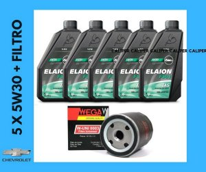 Chevrolet filtro e óleo