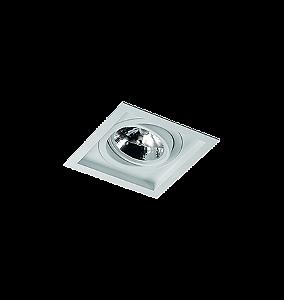 Embutido quadrado acrilico pra ar111 re1215