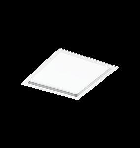 Embutido quadrado acrilico  4xe27 re1252