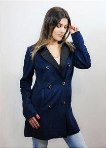 Casaco feminino azul P