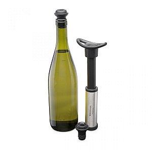 Kit bomba a vacuo para vinho reservado