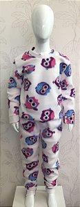 Pijama Soft 2 peças Tamanho 6